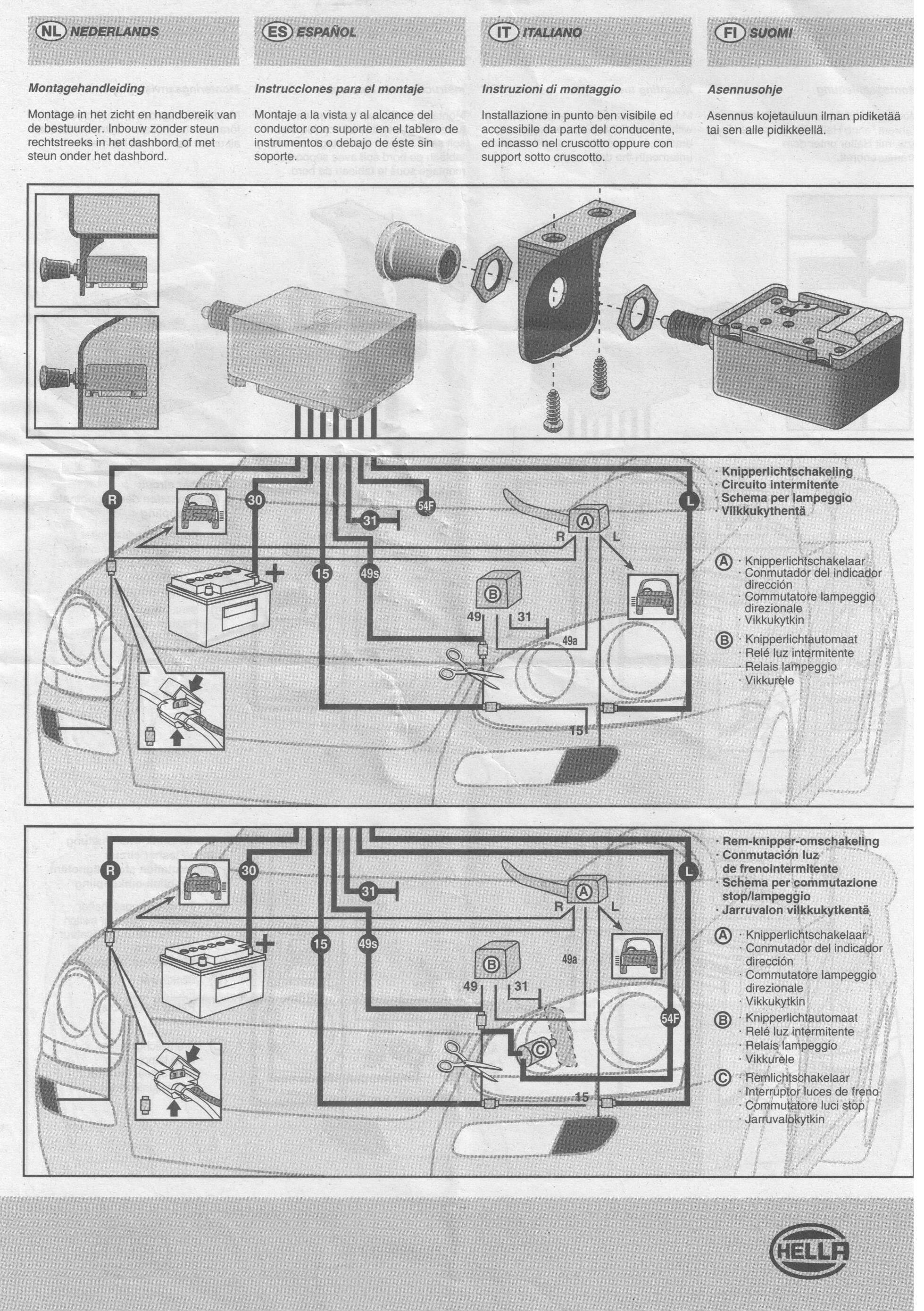 Erfreut Hella 550 Schaltplan Fotos - Die Besten Elektrischen ...